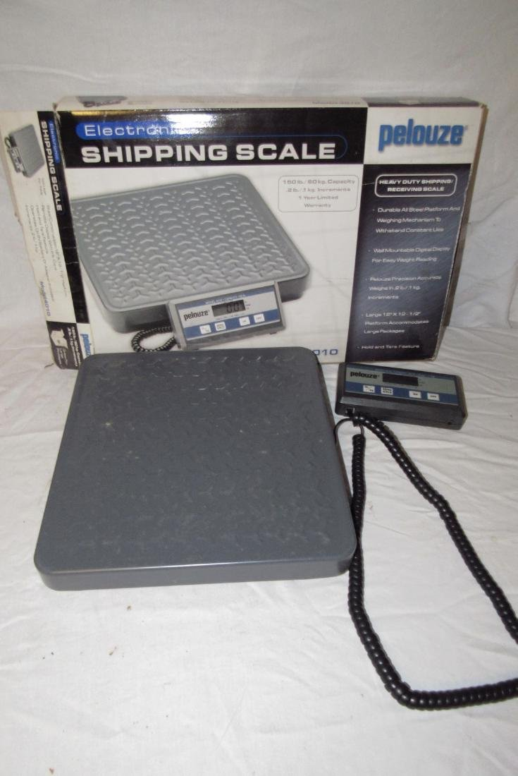 Pelouze Electronic Shipping Scale