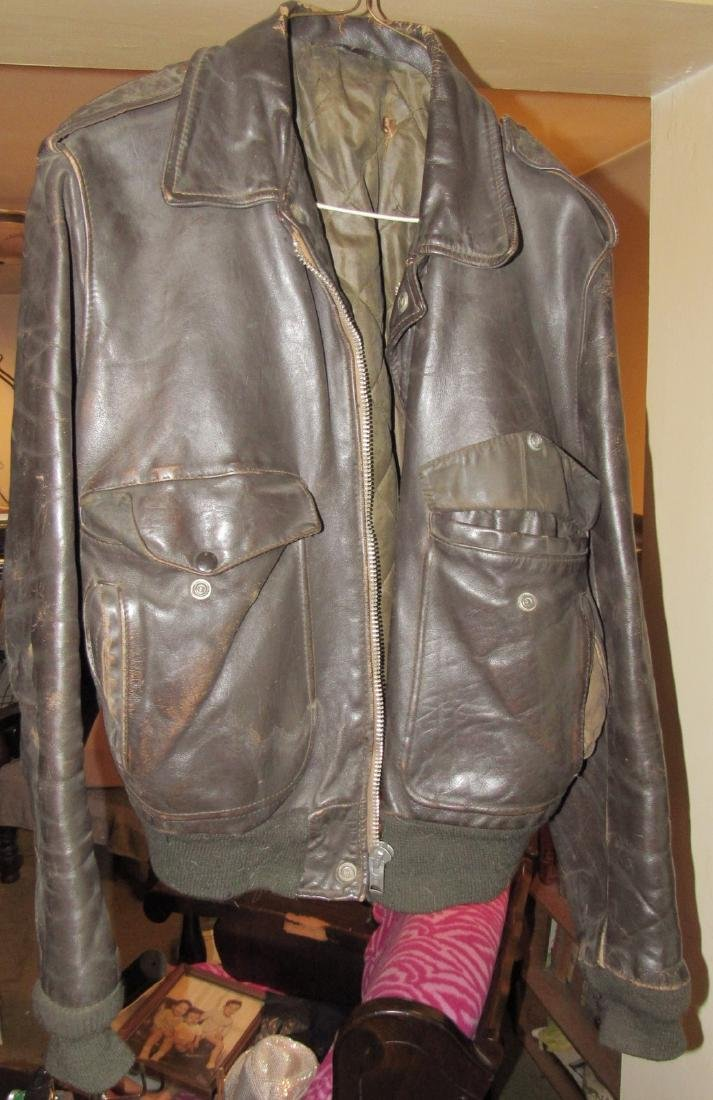 2 Vintage Leather Motorcycle Jackets - 3