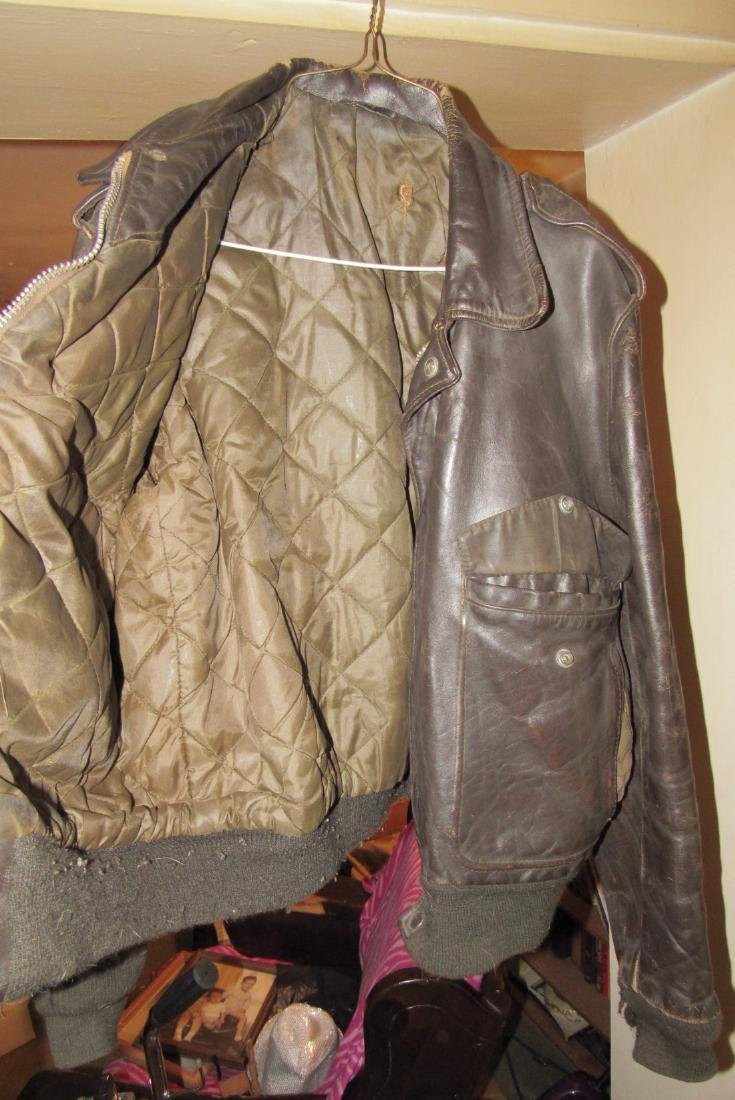 2 Vintage Leather Motorcycle Jackets - 6