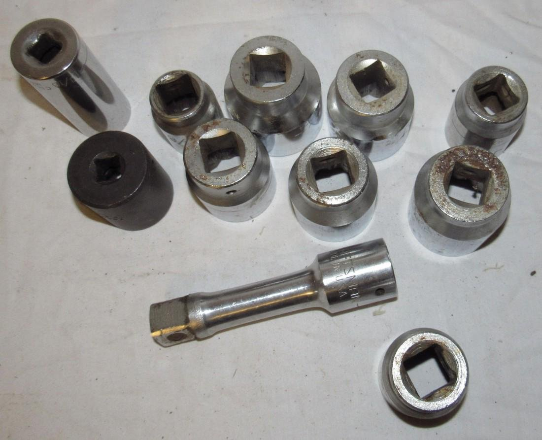 "Craftsman 3/4"" Drive Sockets - 2"