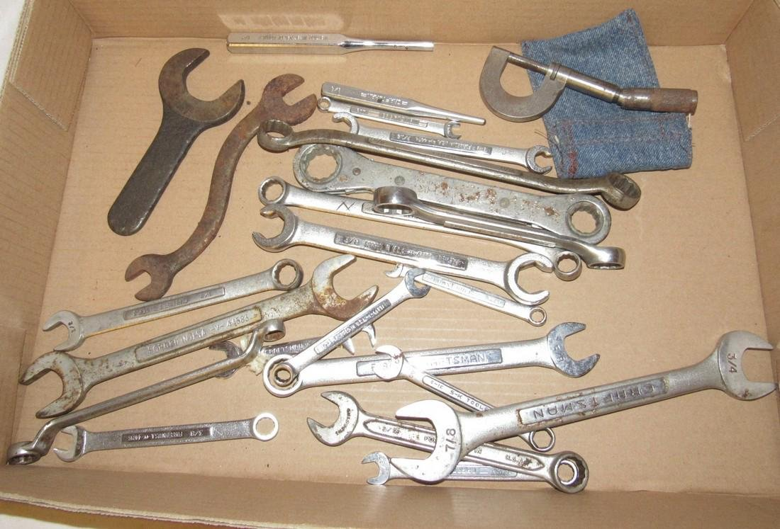 Craftsman Wrenches Jacobs & Micrometer