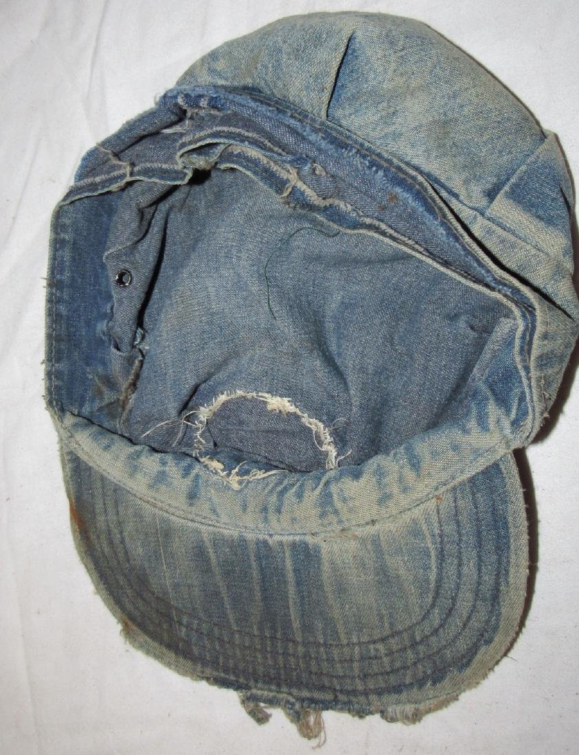 Vintage Wrangler Denim Jacket and Denim Hat - 3