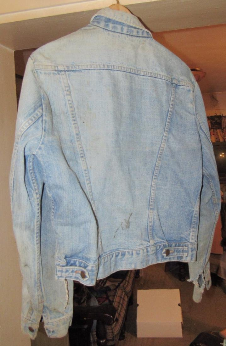 Vintage Wrangler Denim Jacket and Denim Hat - 4
