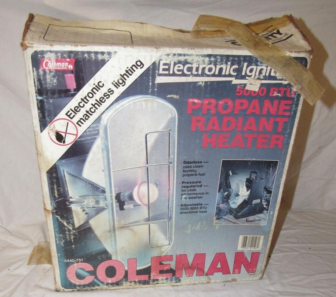 Coleman 5000 BTU Propane Radiant Heater