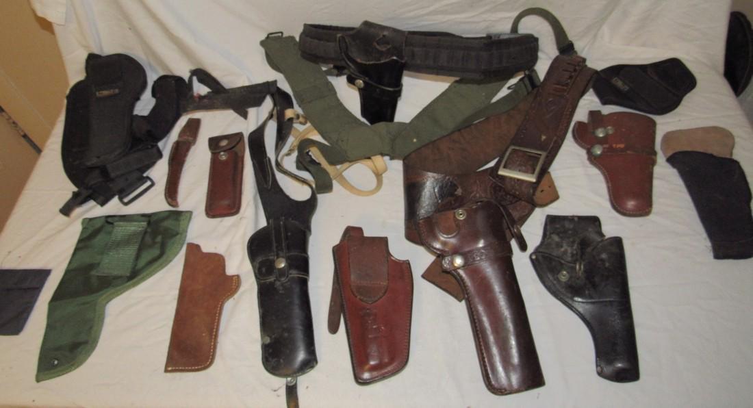 Pistol Gun Holsters Knife Sheafs Hunter Longhorn