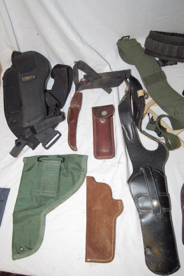 Pistol Gun Holsters Knife Sheafs Hunter Longhorn - 2