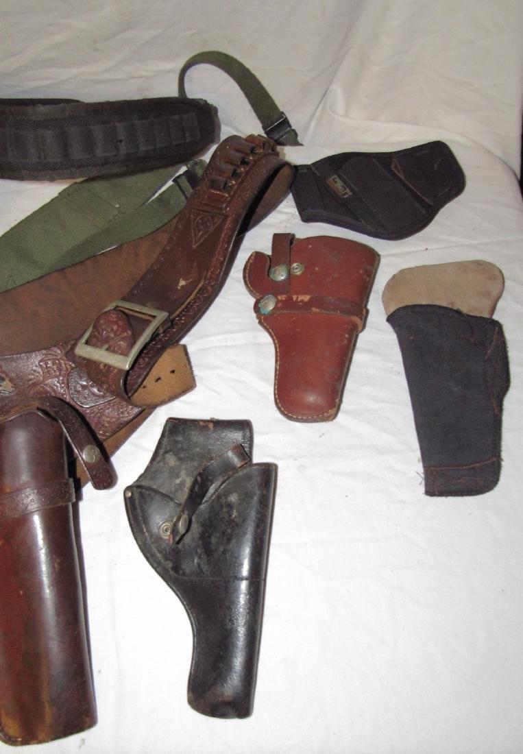 Pistol Gun Holsters Knife Sheafs Hunter Longhorn - 4