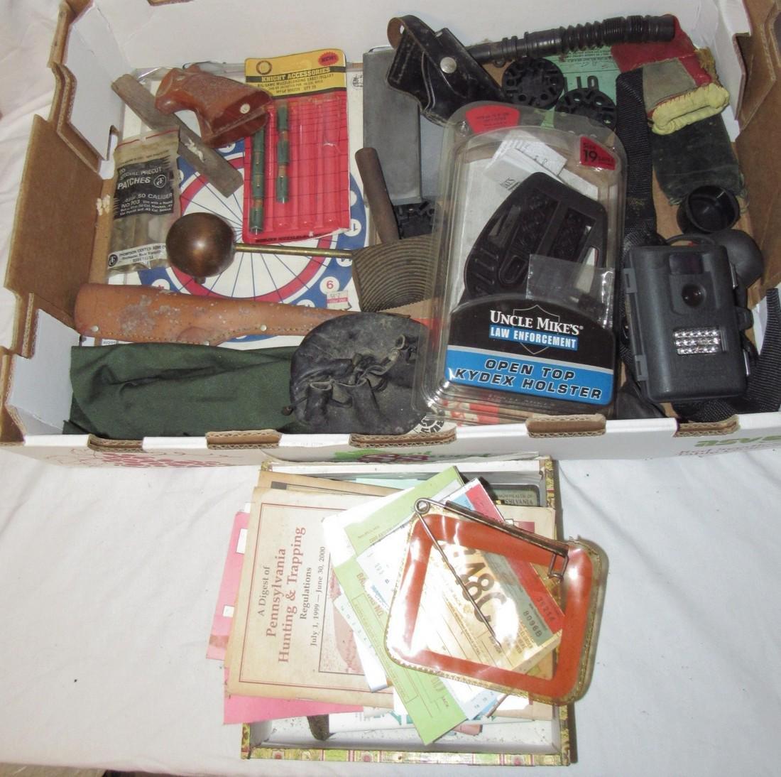 Pistol Grip Holsters Game Camera Muzzle Loader Sabots