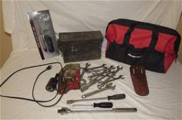 Snap On Screw Driver Chisel Tool Bag Ammo Box