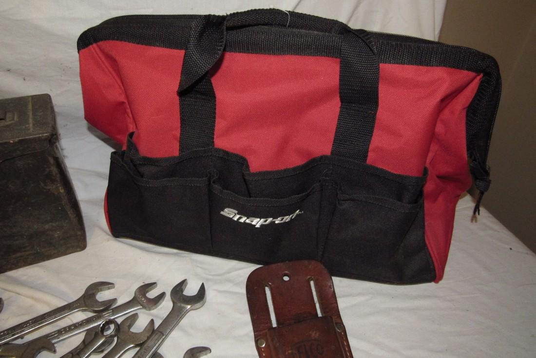 Snap On Screw Driver Chisel Tool Bag Ammo Box - 2