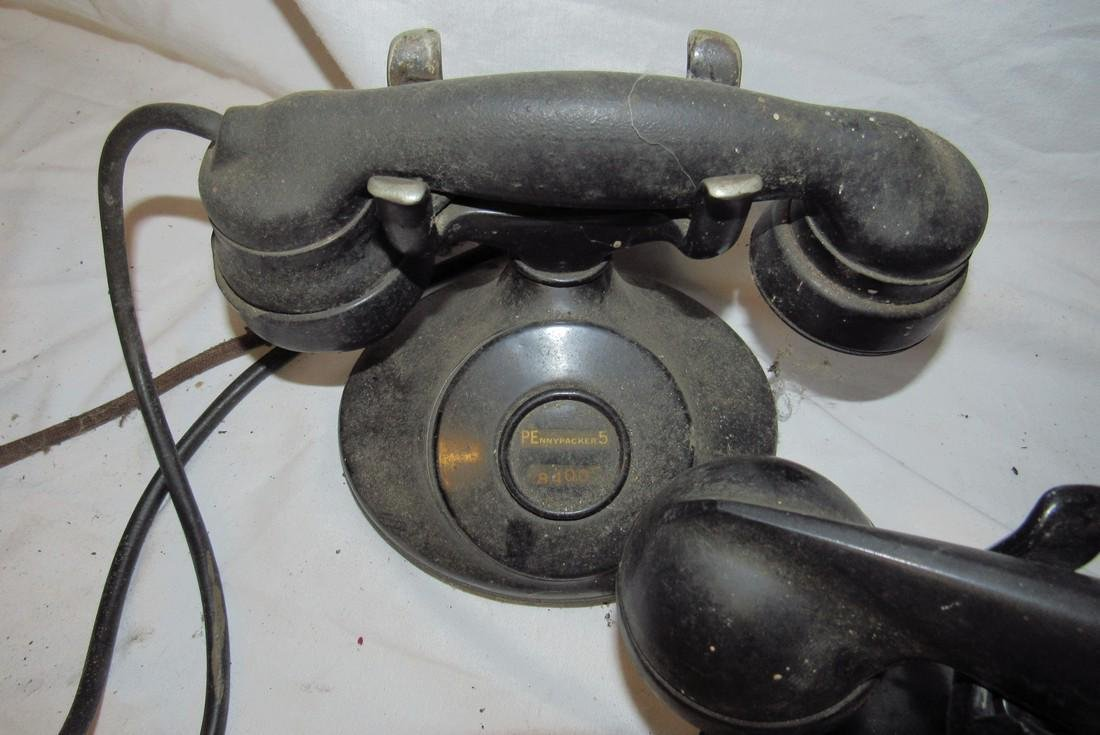 3 Antique Bell System Western Electric Telephones - 4