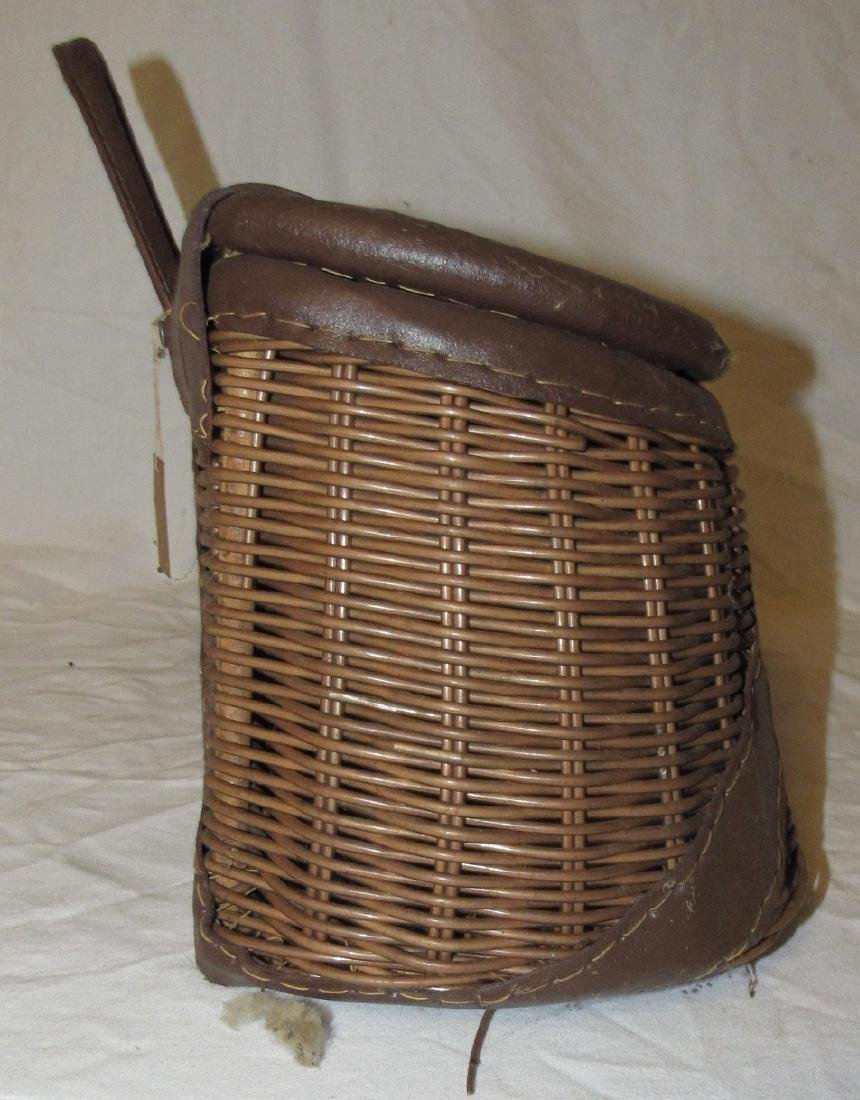 Wicker Fishing Creel - 4