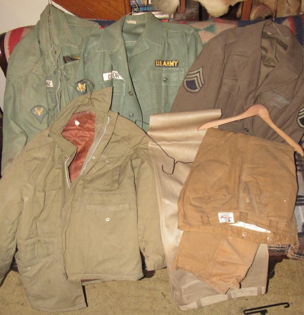US Army Military Jackets & Hunting Pants