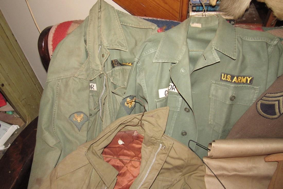 US Army Military Jackets & Hunting Pants - 2