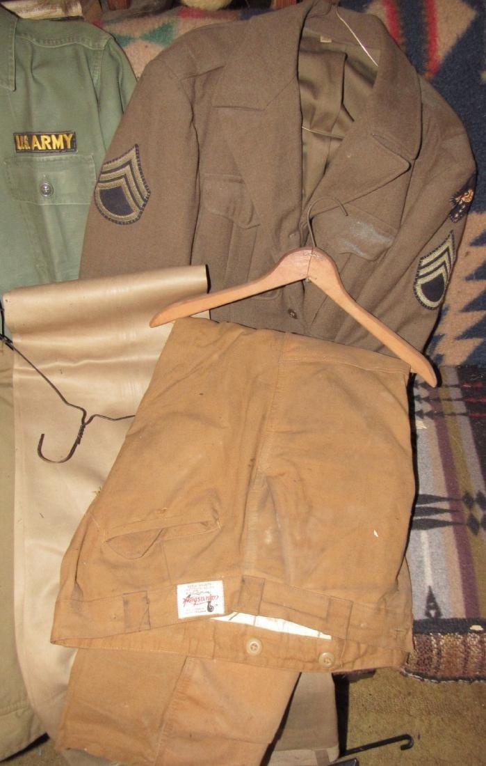 US Army Military Jackets & Hunting Pants - 3