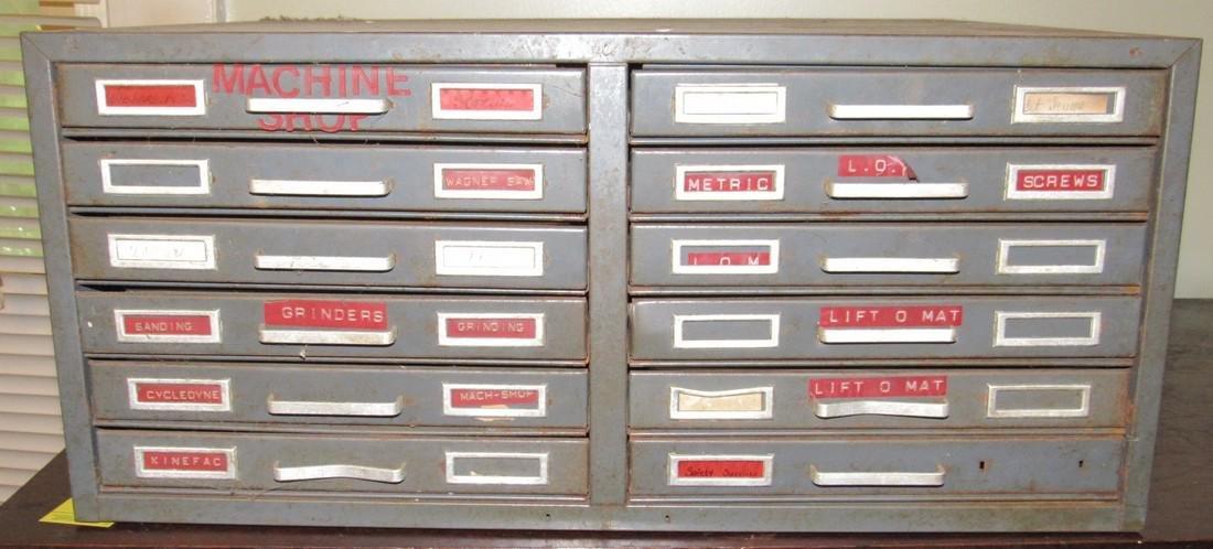 Metal Industrial Index Cabinet