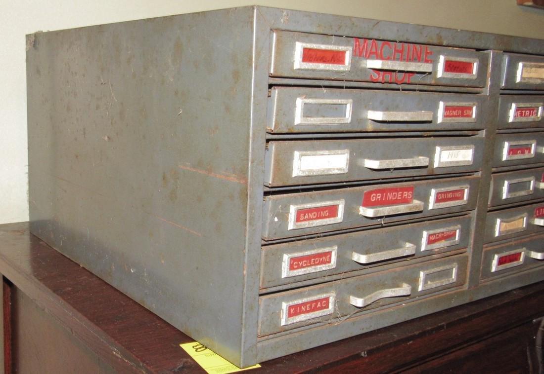 Metal Industrial Index Cabinet - 2