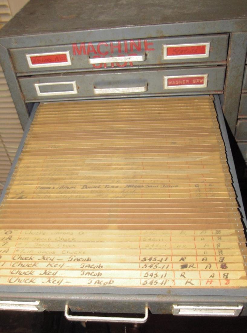 Metal Industrial Index Cabinet - 3