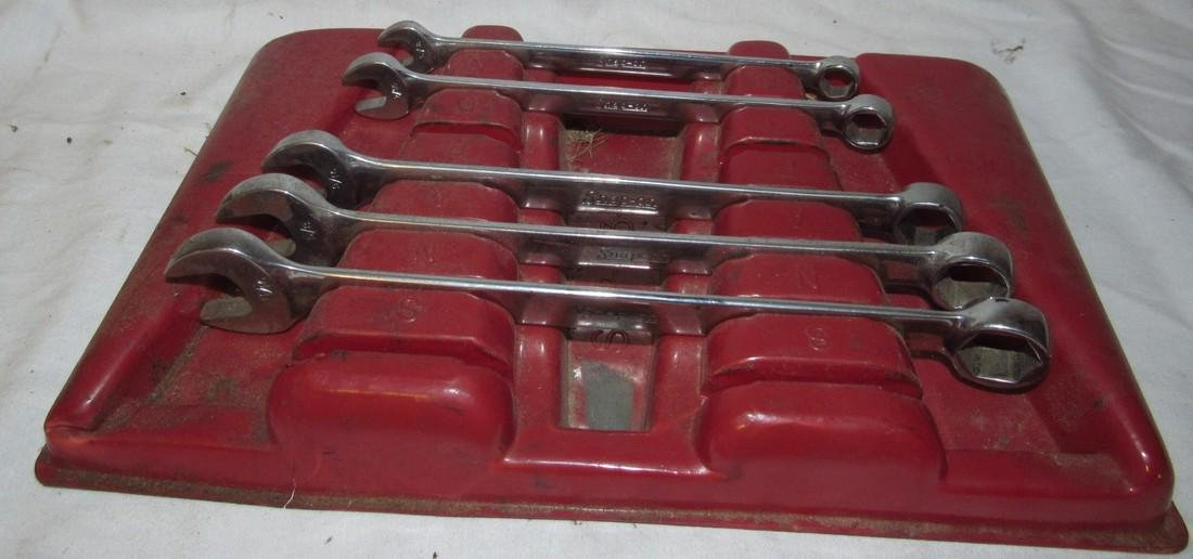 """Snap On 3/8"""" - 11/16"""" Combination Wrenches"""