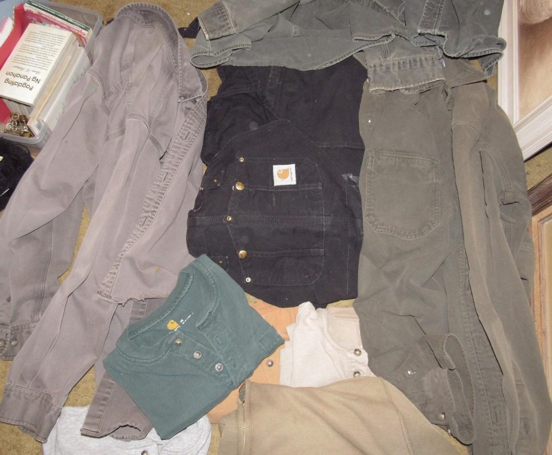 Vintage Carhartt Clothing Shirts Bibs - 3