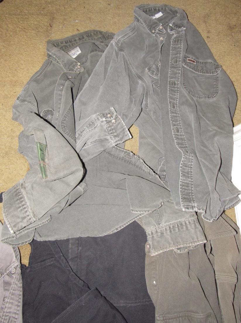 Vintage Carhartt Clothing Shirts Bibs - 4