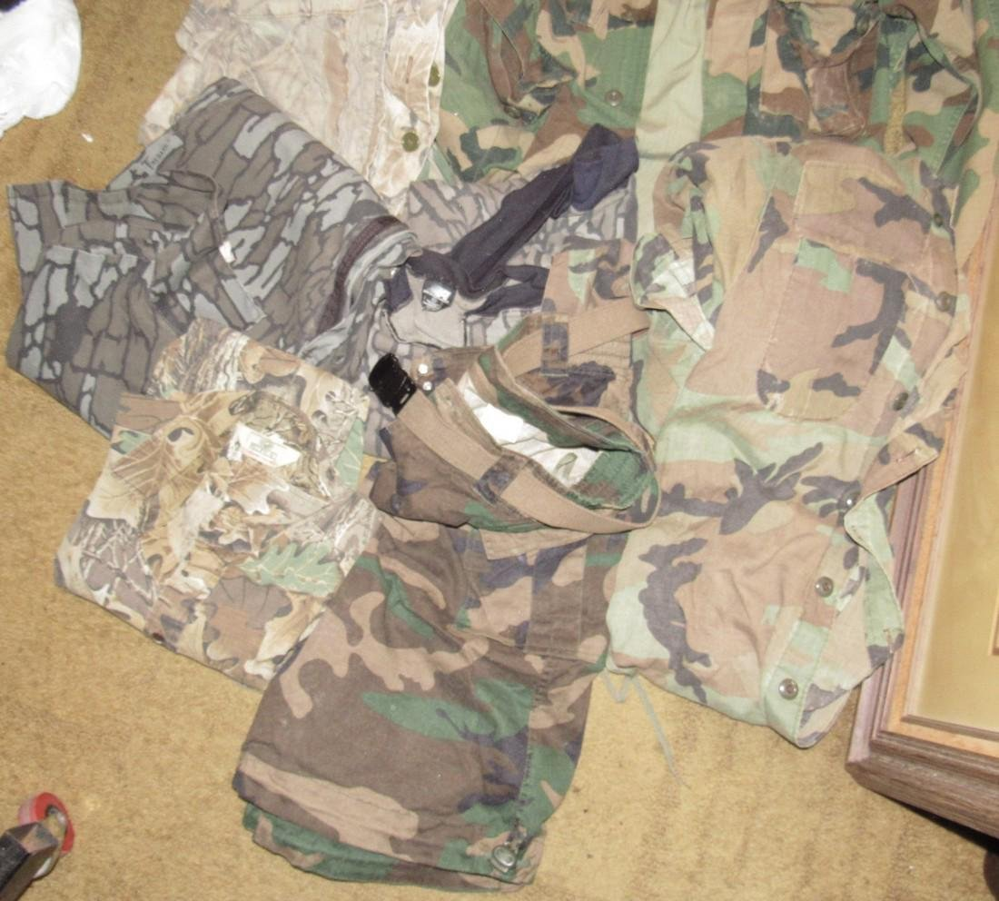 Large Lot of Army Camo Hunting Clothes - 4