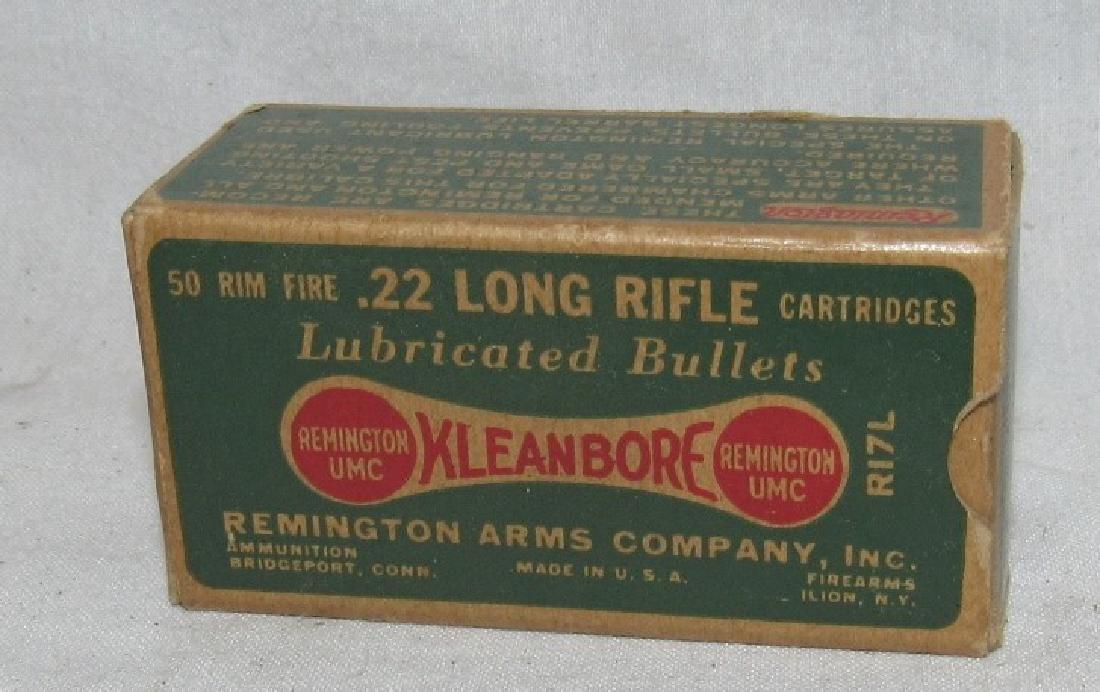 Vintage Remington 22 xleanbore Long Rifle Bullet