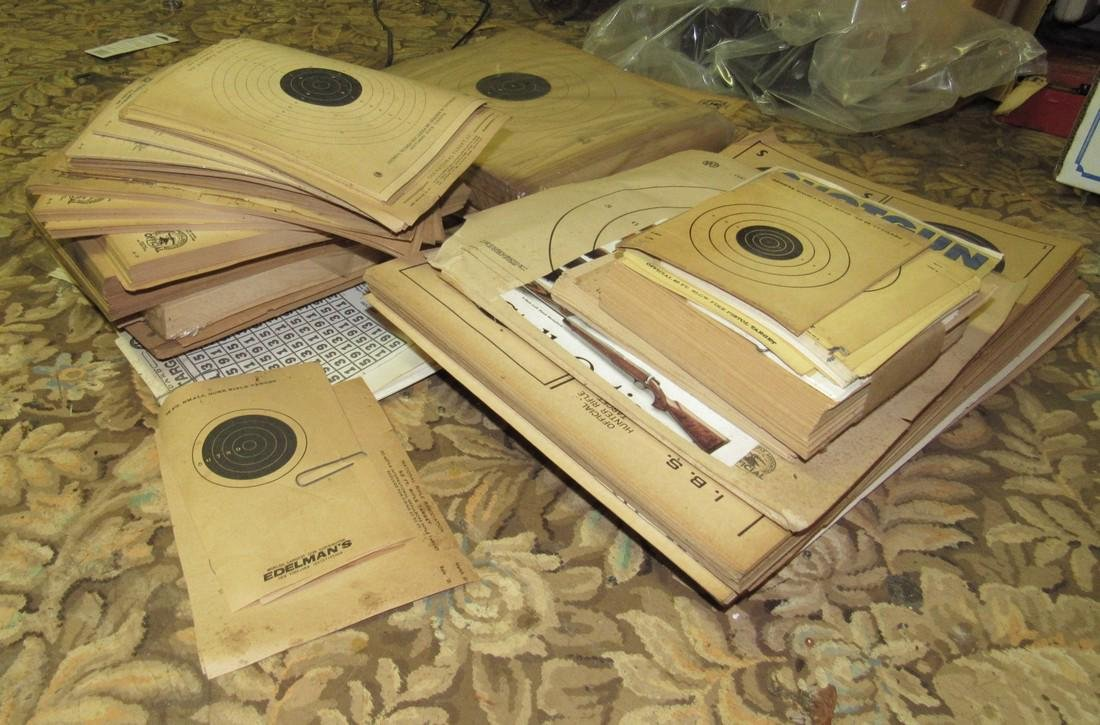 Large Stack of Shooting Targets - 2