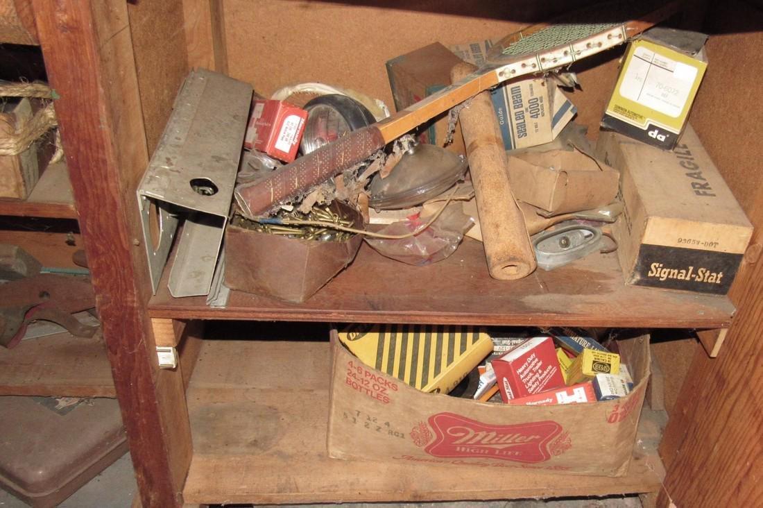 Partial Back Room Contents Snap On Box Tools Copper - 3