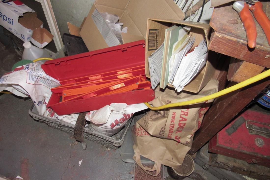 Partial Back Room Contents Snap On Box Tools Copper - 5