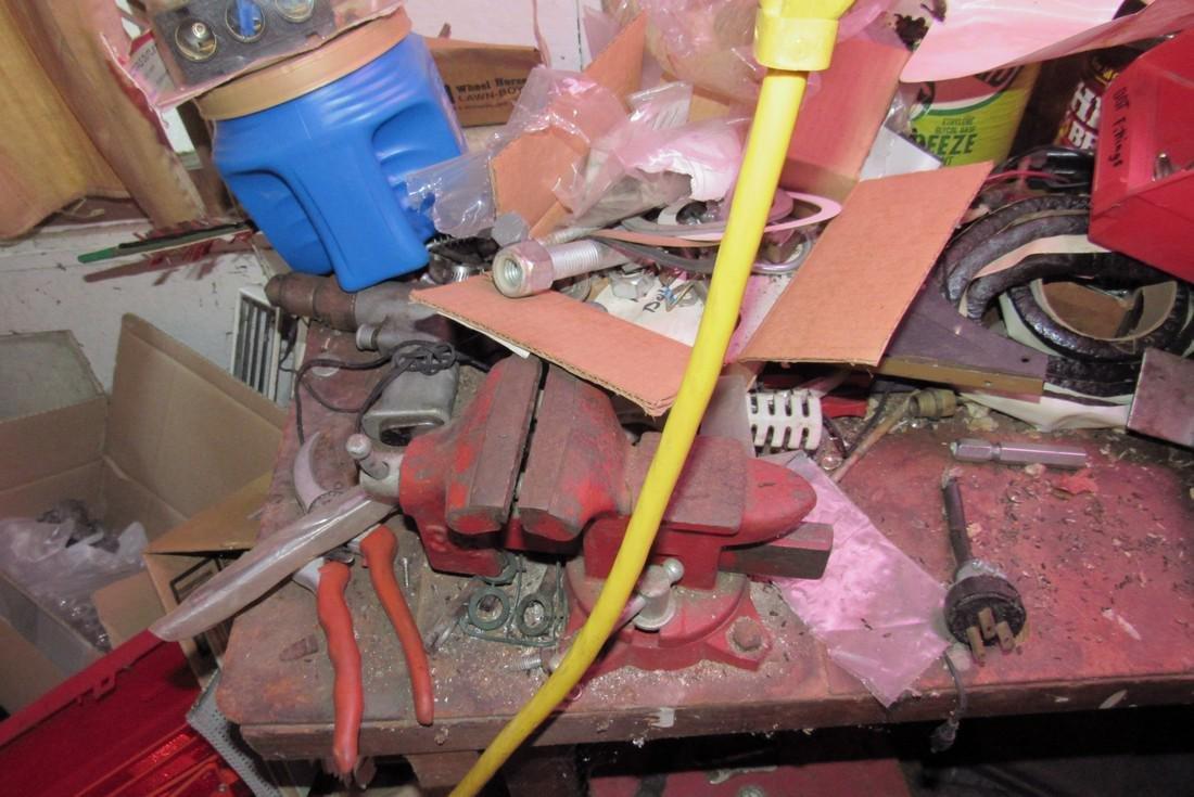 Partial Back Room Contents Snap On Box Tools Copper - 6