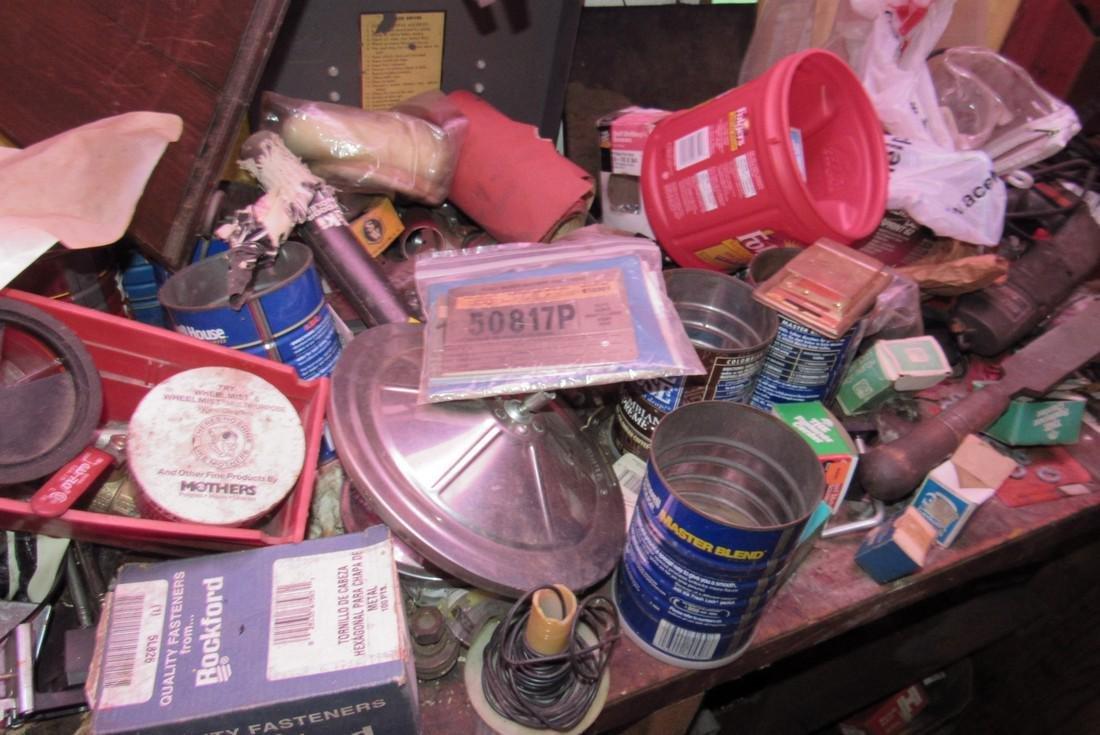 Partial Back Room Contents Snap On Box Tools Copper - 7