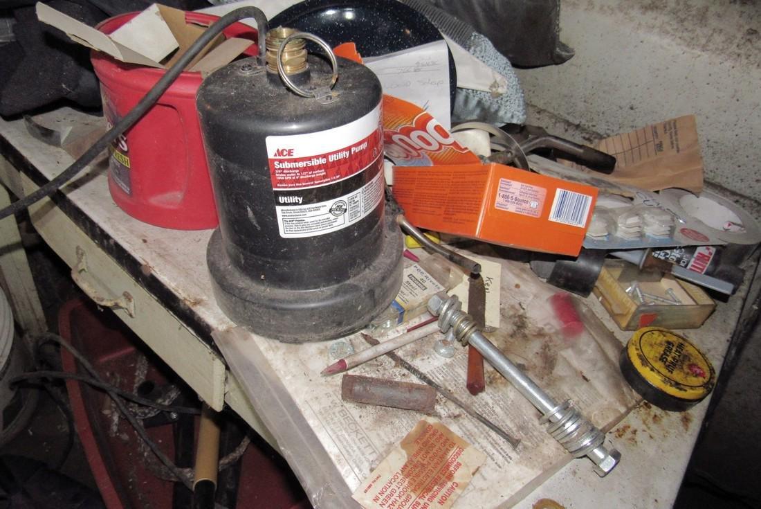 Ace Submersible Pump Porcelain Top Table - 2