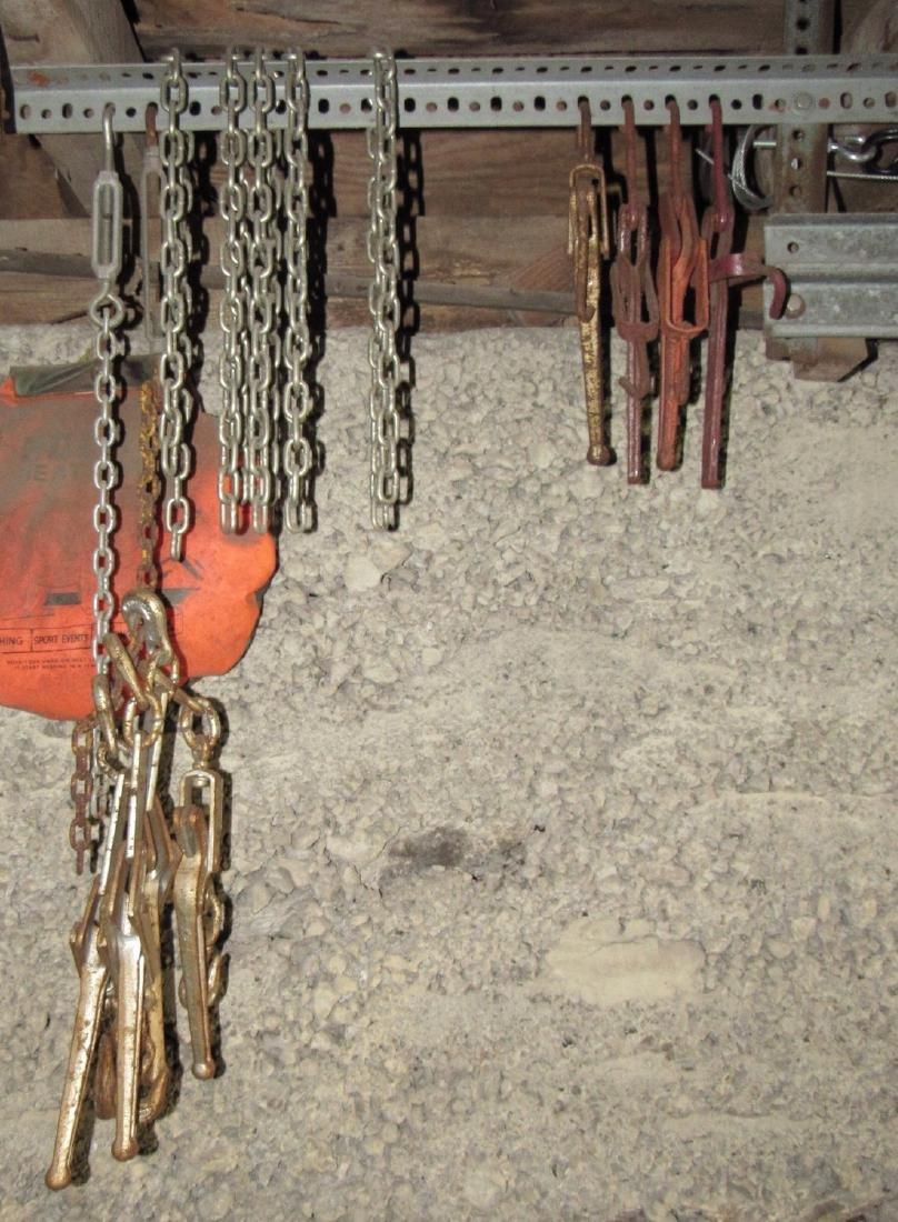 8 Chain Binders & Chain