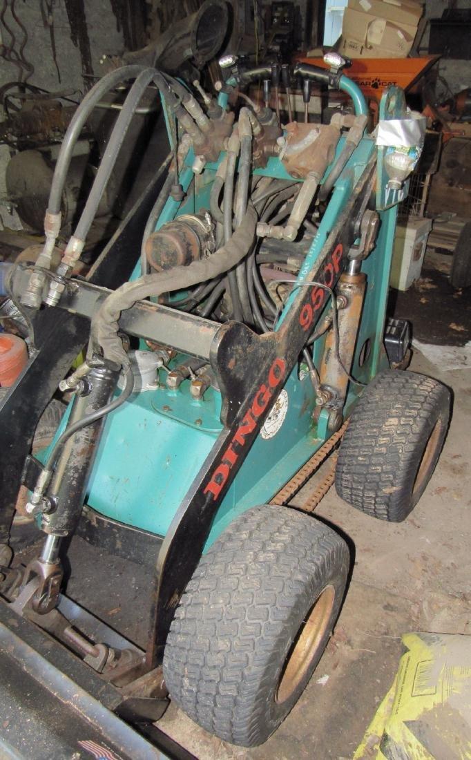 Toro Dingo 950P w/ Attachments Plow Forks Aerator - 3