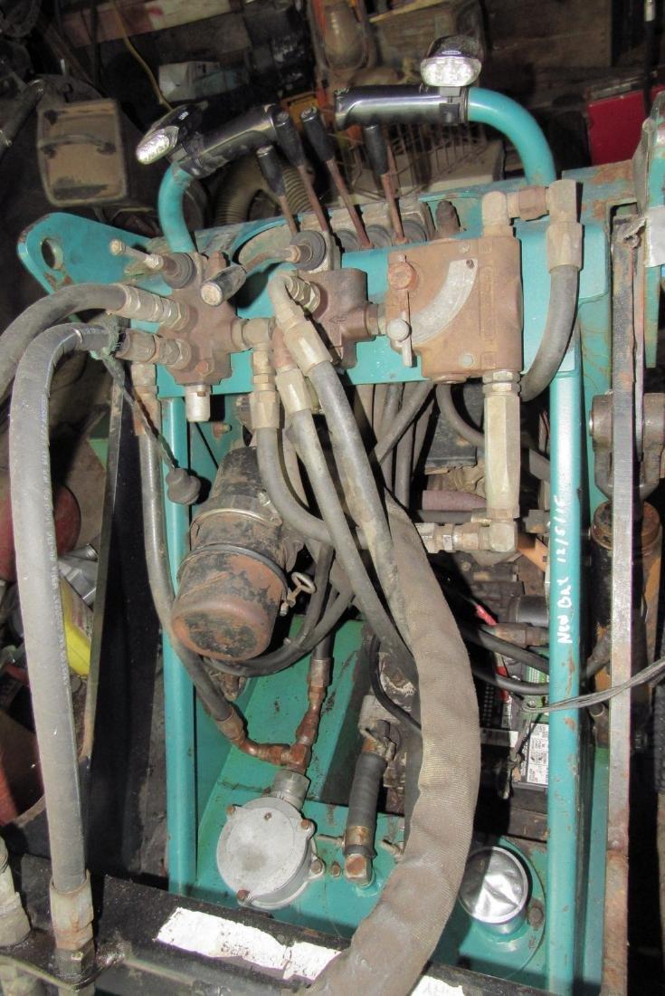 Toro Dingo 950P w/ Attachments Plow Forks Aerator - 4