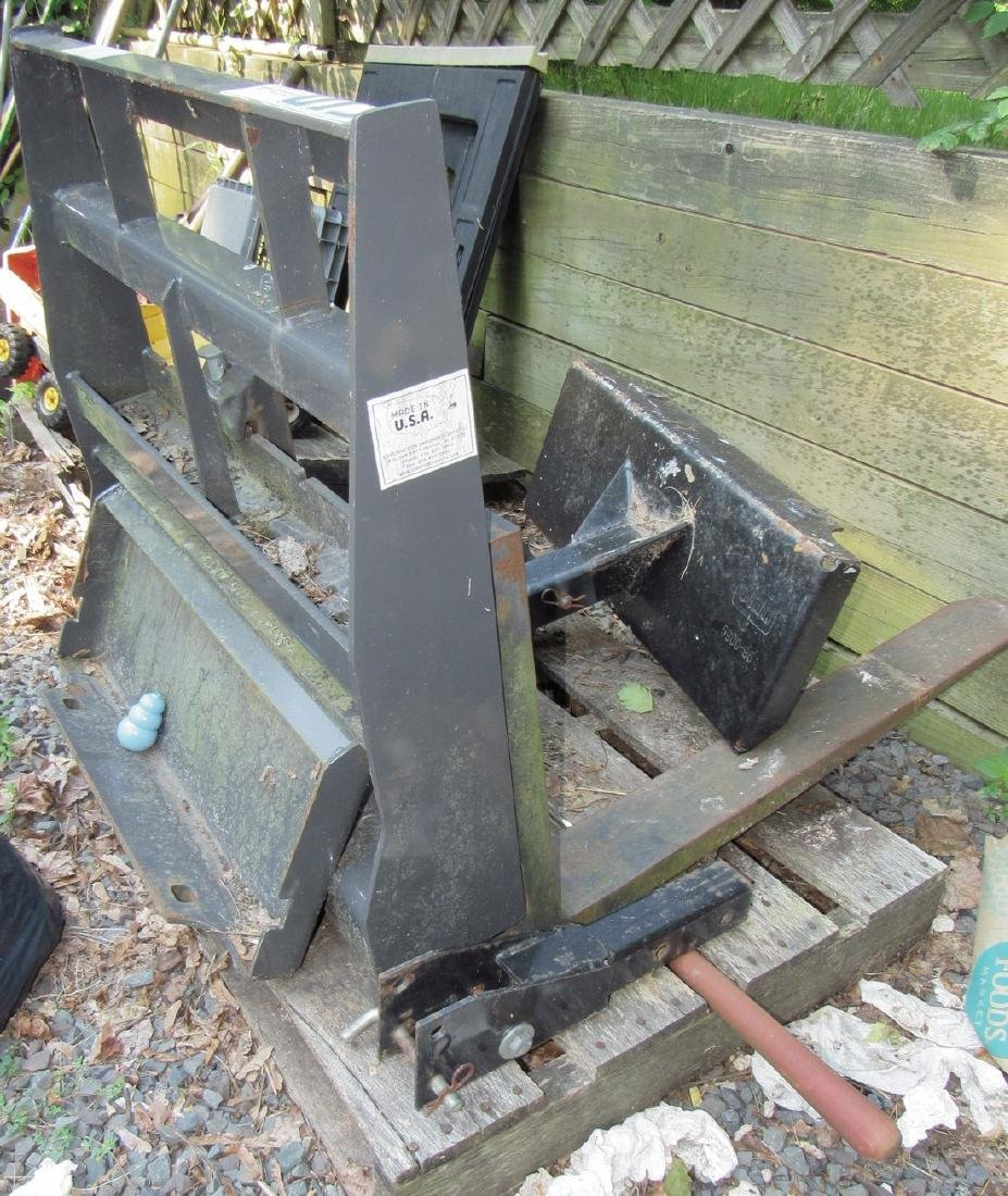 Toro Dingo 950P w/ Attachments Plow Forks Aerator - 7