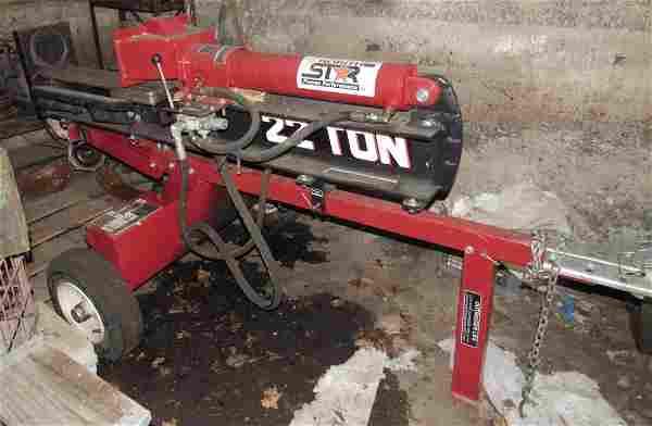 North Star Log Splitter w/ Honda GC 160 Engine