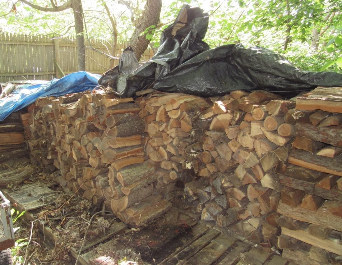 Large Lot of Cut & Split Firewood