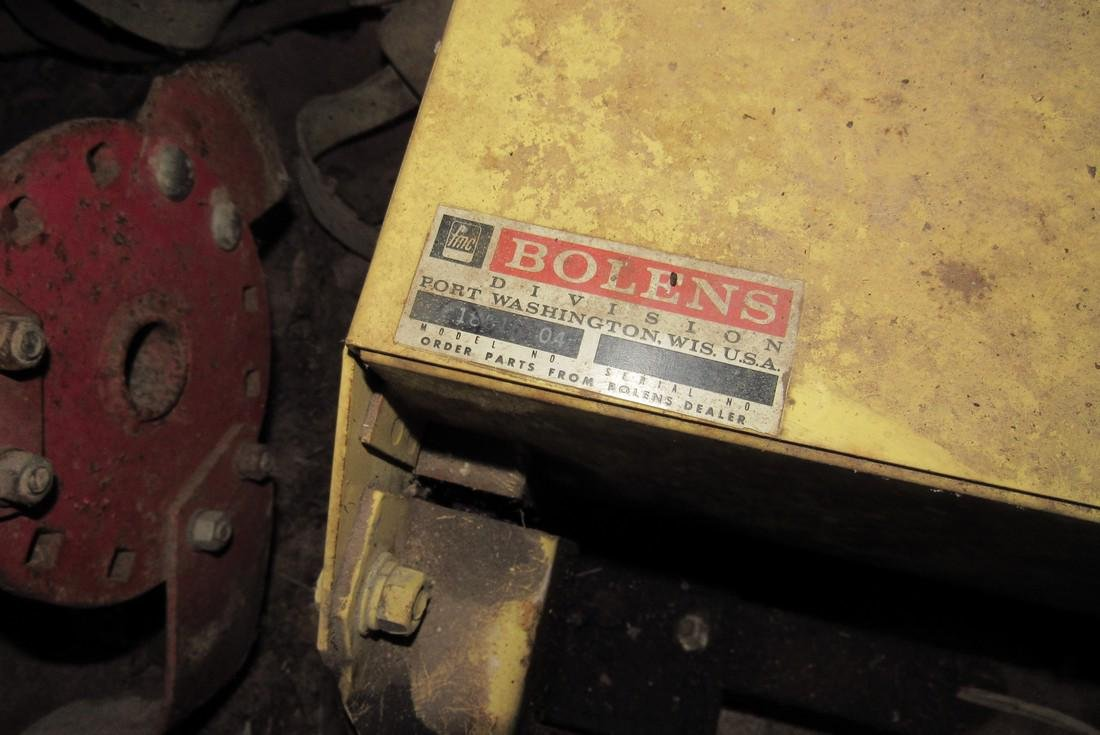 Bolens Garden Tractor 36 Sno Caster Snow Blower - 4