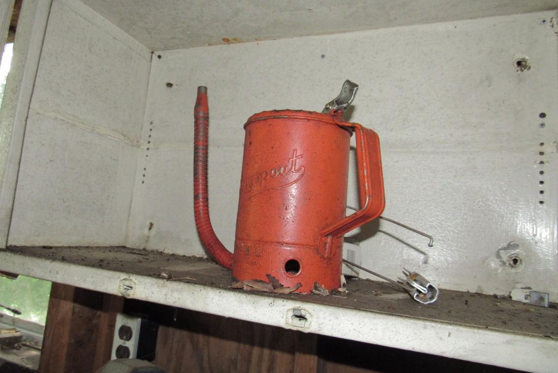 Grinder Kendall Oil Drum Cans Nylon Straps - 7