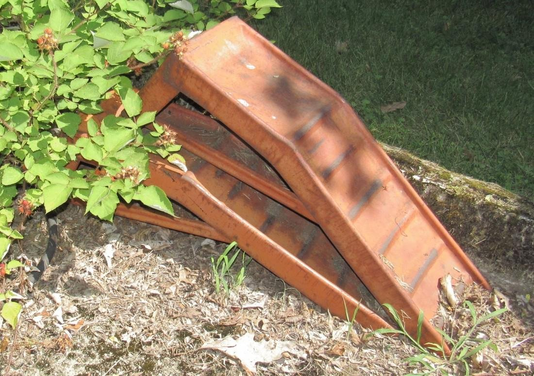 Firewood Picnic Table Ramps - 4