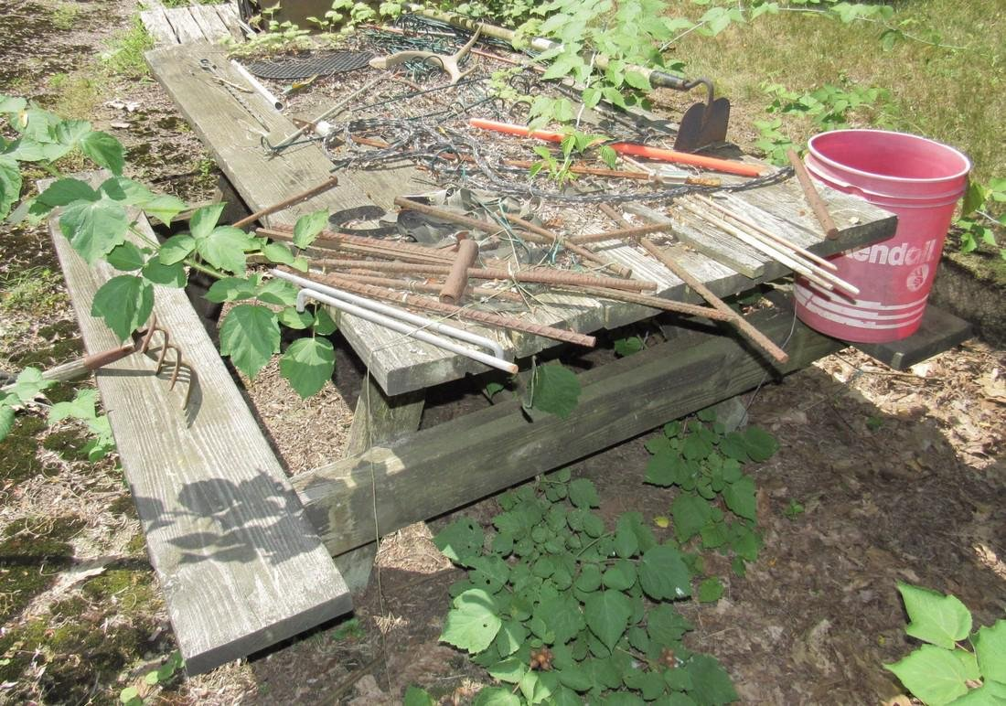 Firewood Picnic Table Ramps - 5