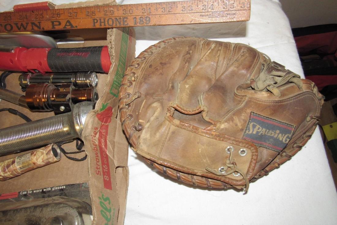 Flashlights Baseball Glove UZI watch Railroad Magazines - 7