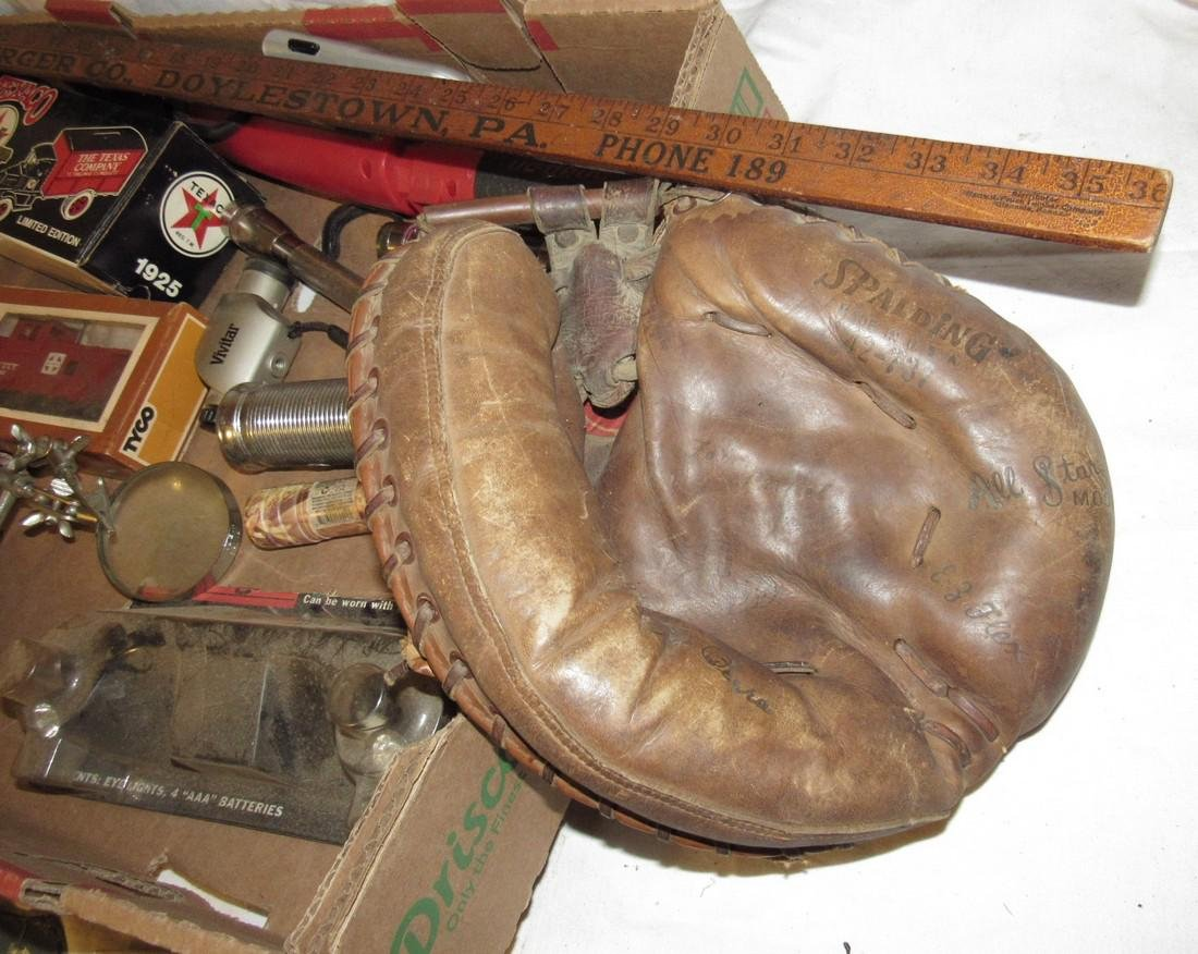 Flashlights Baseball Glove UZI watch Railroad Magazines - 8