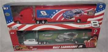 2 Dale Earnhardt Jr Winners Circle Car Haulers Amp