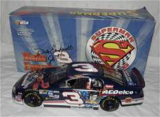 Dale Earnhardt Jr Superman Autographed Nascar 124