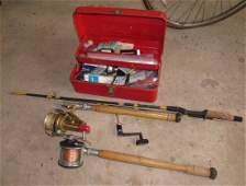 Union Fishing Tackle Box Penn 65 Long Beach Reel