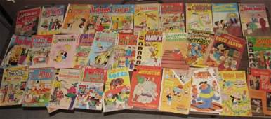 Lot of Vintage Comic Books Captain America Richie Rich