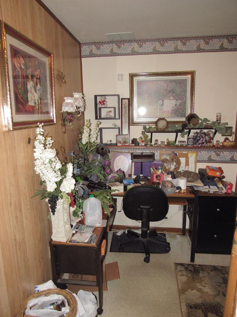Computer Desk Chair Prints File Cabinet Shelves